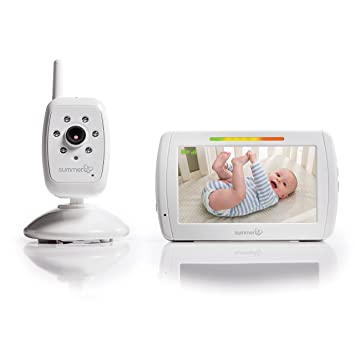 32050e496952 Amazon.com   Summer Infant In View Video Baby Monitor with 5-inch Screen  and Camera   Baby
