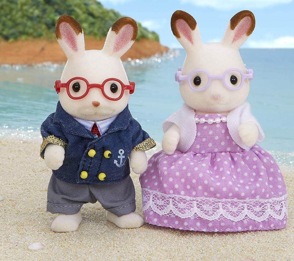 シルバニアファミリー ショコラウサギのおじいさん・おばあさん Android(960×854)待ち受け画像