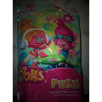 DreamWorks Trolls Puzzle: Toys & Games