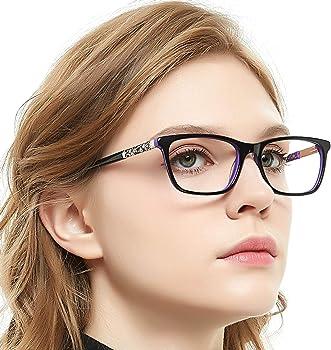 Occi Chiari Eyewear Frames Eyeglasses Optical Frame Wayfarer Fashion Clear Lens Glasses For Women Milan 52mm Amazon In Clothing Accessories