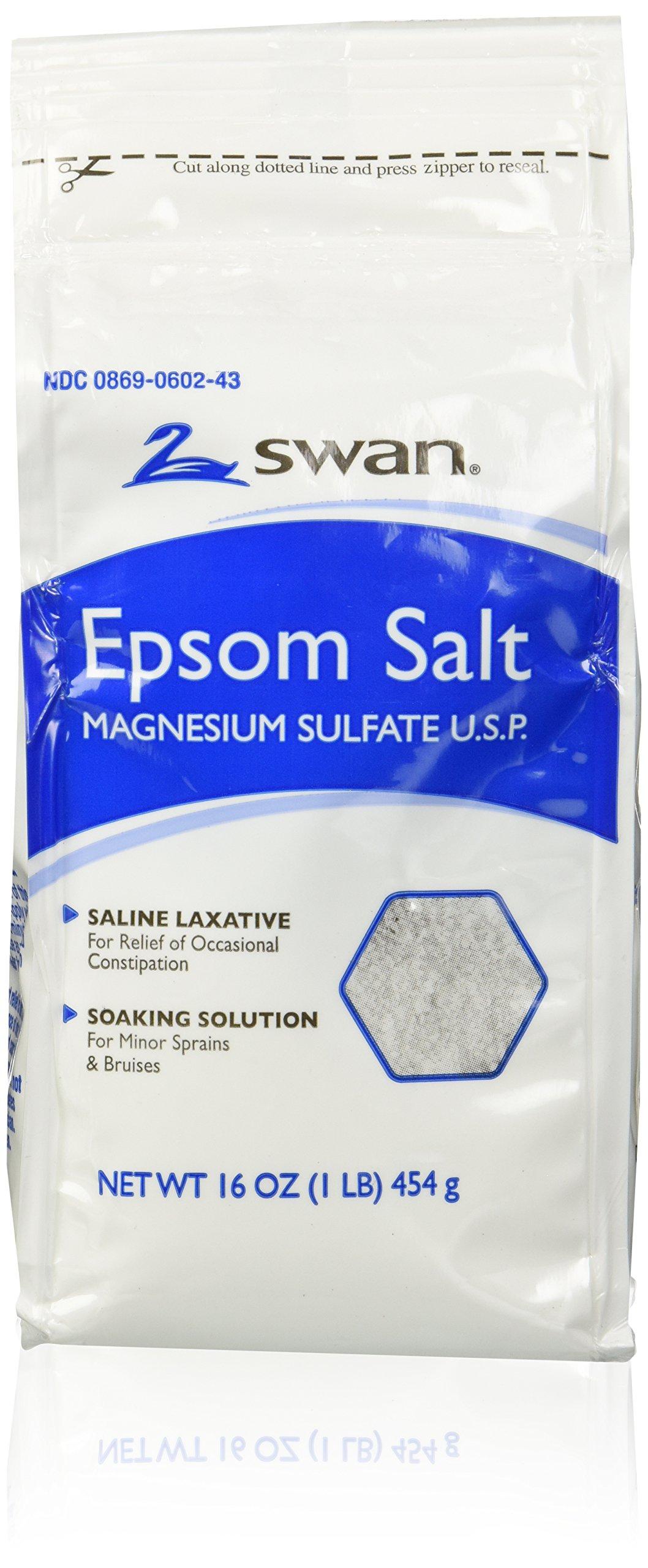 Swan Epsom Salt 16oz