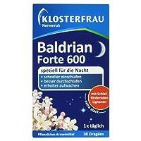 Klosterfrau Nervenruh Baldrian Forte 600, 30 Dragées