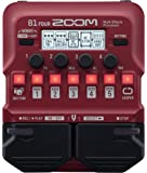 ZOOM ズーム ベース用マルチエフェクツ・プロセッサー B1 FOUR 赤