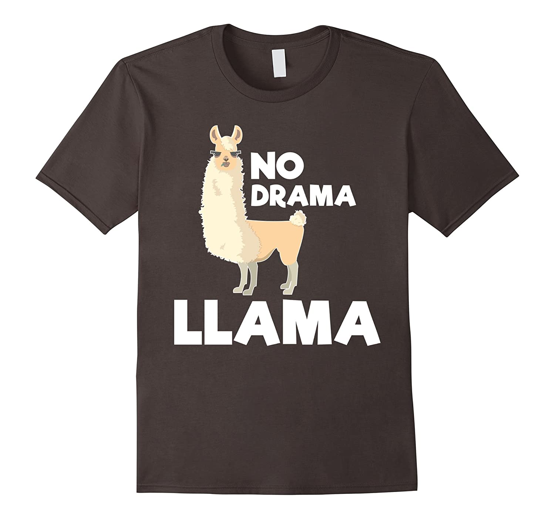 3fb383114 No Drama Llama – Funny T-shirt-RT – Rateeshirt