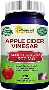Amazon.com: Apple Cider Vinegar Supplement (120 Capsules