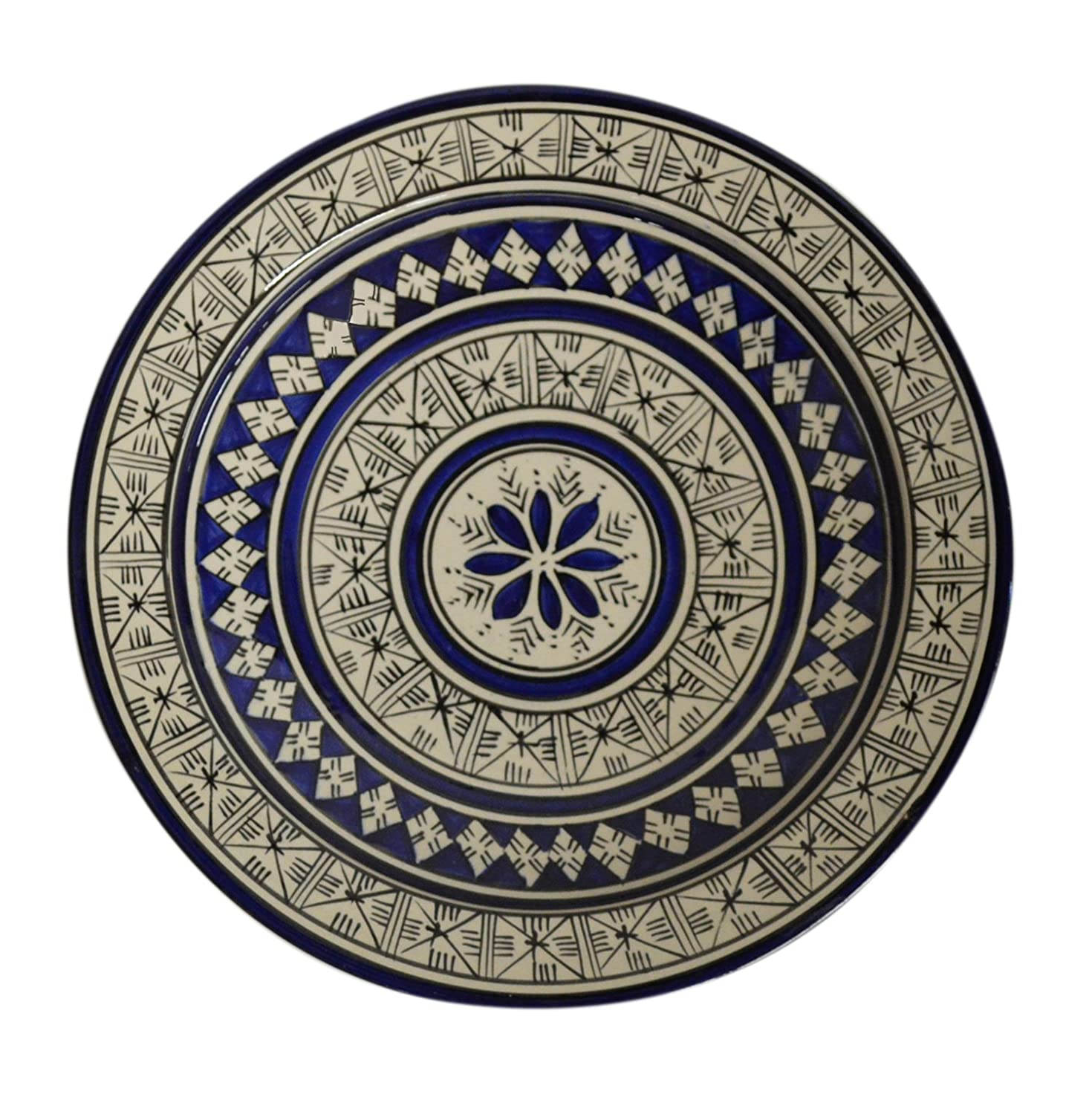 perfect and image decor enchanting festooning plates blue collection wall decorative white