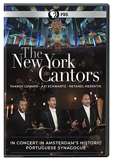 The New York Cantors DVD