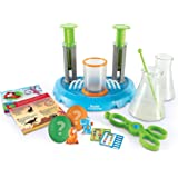 Learning Resources Beaker Creatures Liquid Reactor Super Lab, Homeschool, STEM, Science Exploration Toy, Easter Gifts for Kid