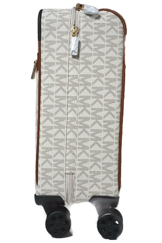 a379df6402ed Michael Kors Travel Trolley Carry On Suitcase Vanilla MK Signature   Amazon.ca  Shoes   Handbags