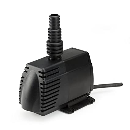 Pumps (water) Pet Supplies 400 Gph Fully Submersible Backyard Pond Pump Oil Free Design Filtered Filtration