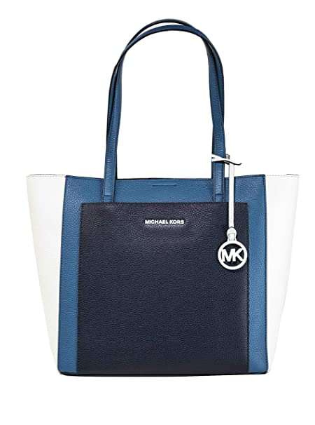 Michael Kors Gemma Large Tri Color Pebbled Leather Tote 30S9LGXT3T 415