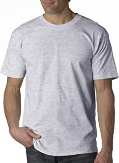 product image for BAYSIDE Adult Short-Sleeve Tee>2XL Ash 5100