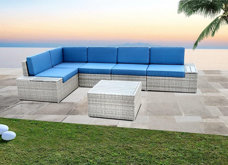 Amazoncom HANTENG Outdoor Furniture 6 Pieces Garden