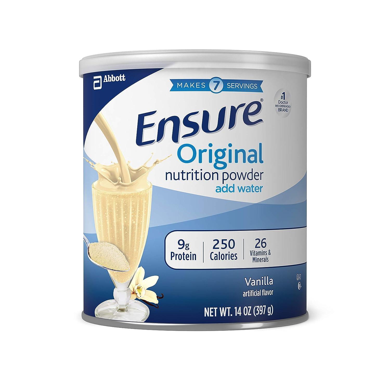 海外直送品Ensure Ensure Nutrition Powder Vanilla, Vanilla 14 oz   B0007XXPLQ