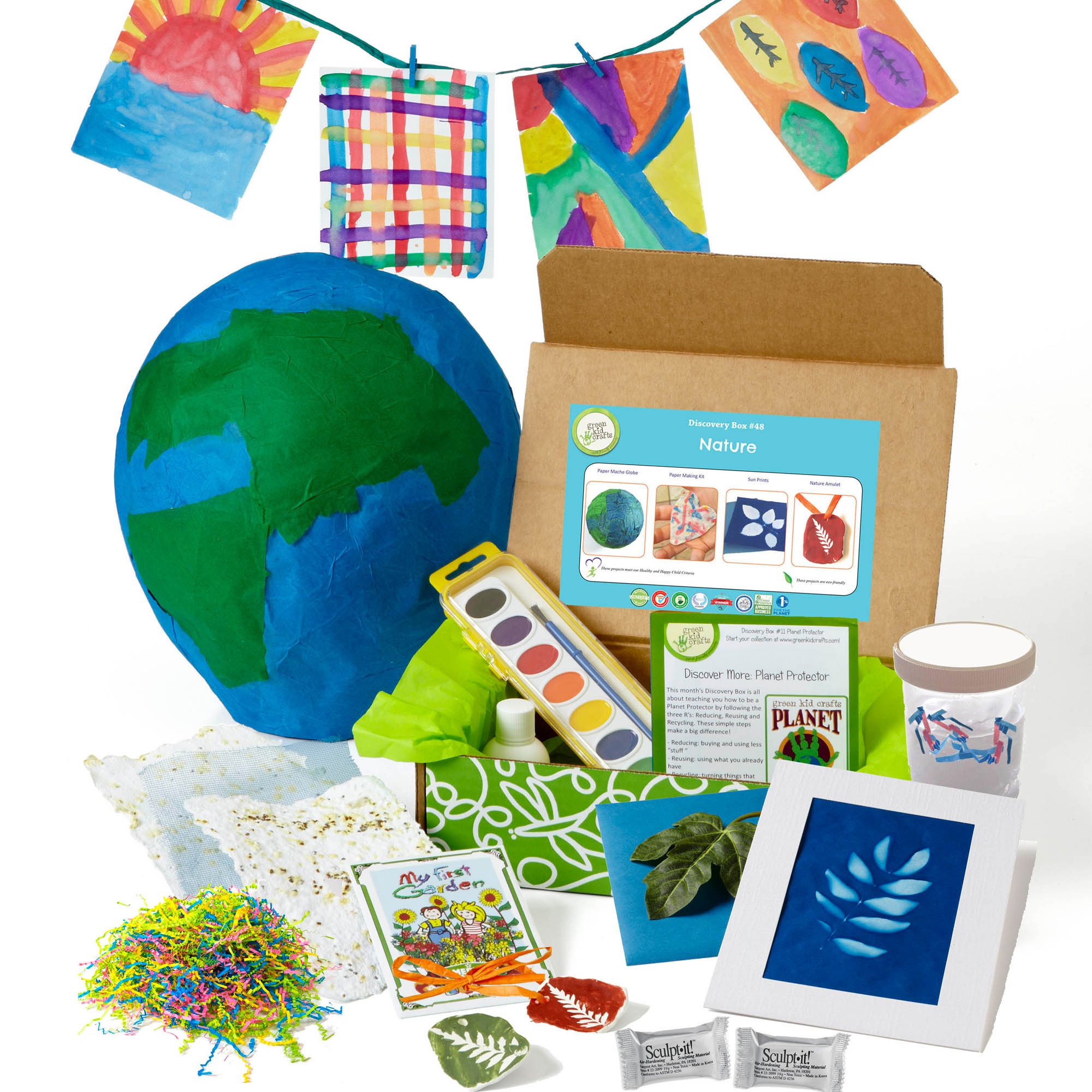 Green Kid Crafts - Monthly STEAM Subscription: Discovery Box by Green Kid Crafts Co. (Image #7)