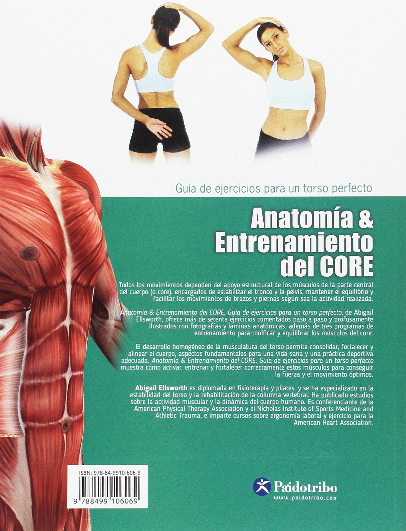 Anatomía & entrenamiento del CORE (color): Abigail Ellsworth ...