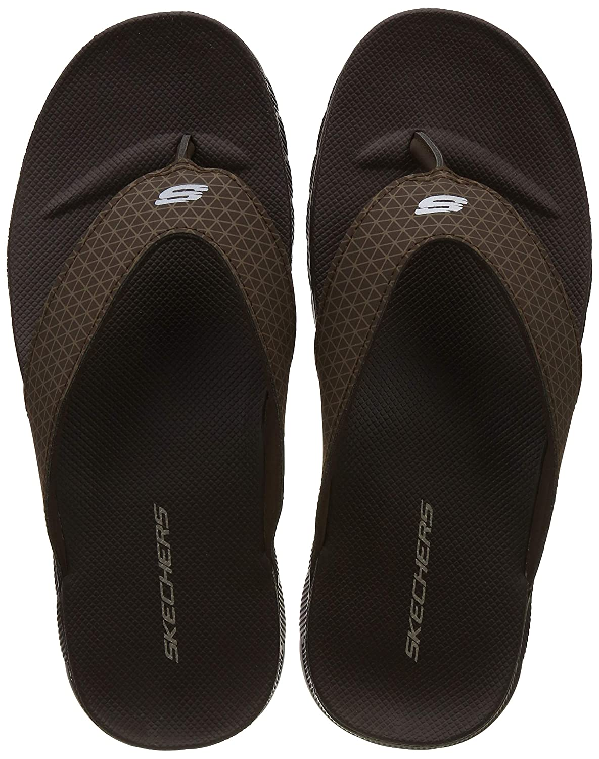 f3078fc44700b6 Skechers Men s Hawaii Thong Sandals  Buy Online at Low Prices in India -  Amazon.in