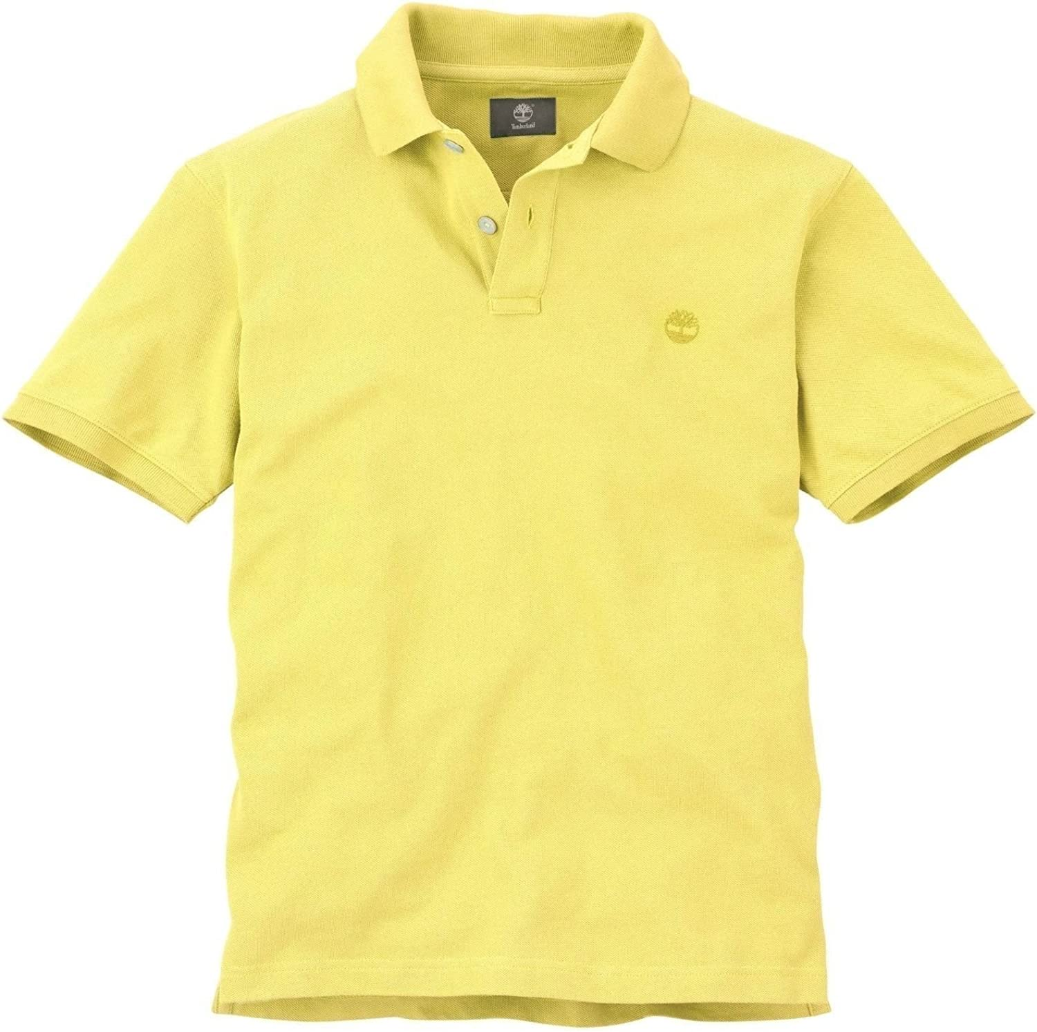 Timberland Men/'s Short Sleeve Pique 100/% Cotton Polo Shirt U Pick Color