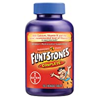 Flintstones Vitamins  Chewable Kids Vitamins, Complete Multivitamin for Kids and...