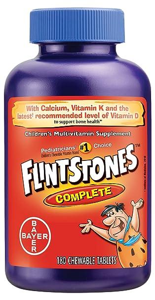 Amazon.com: Flintstones Vitamins Comprimidos masticables ...