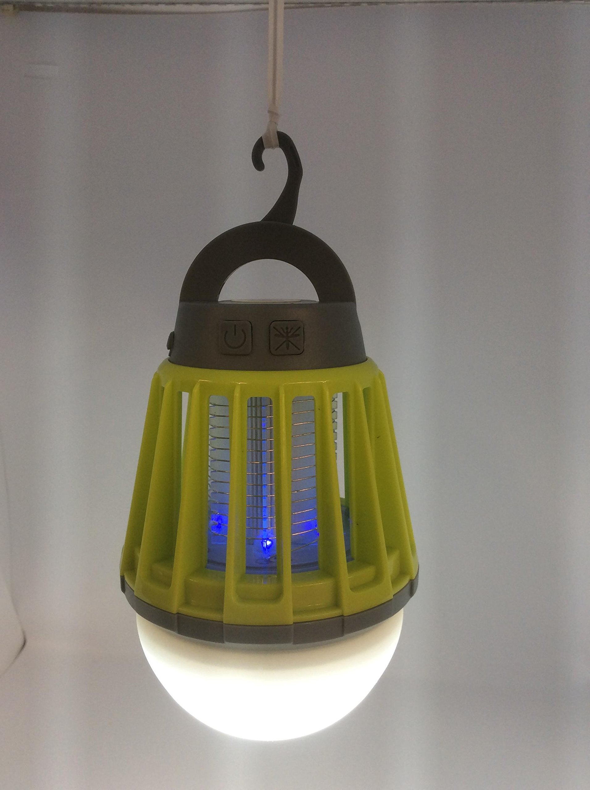 Hydrobreeze 2 in 1 Lantern+Mosquito Zapper-Green-2 by Hydrobreeze