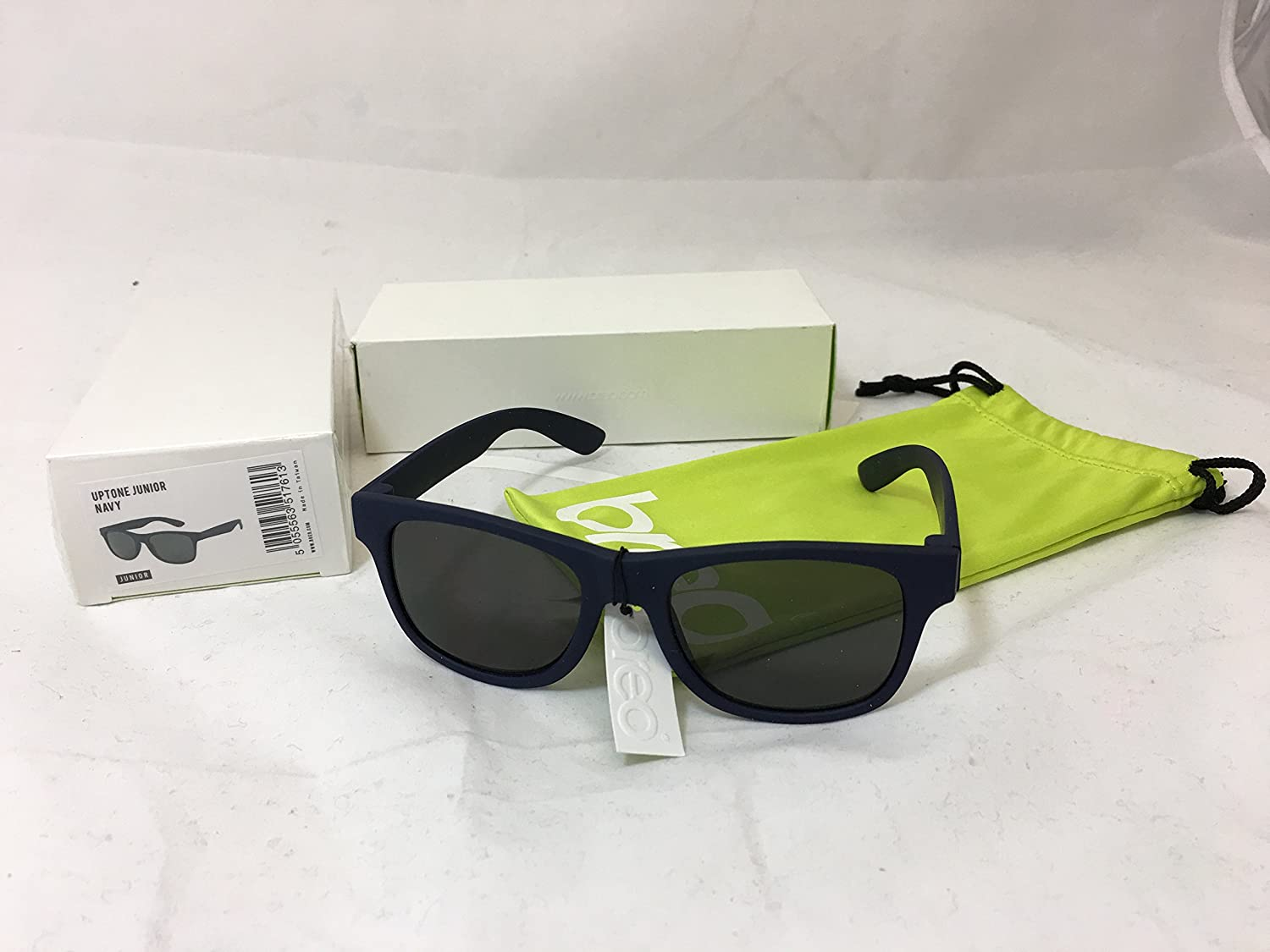 Breo Uptone Kids Childrens Navy Blue Sunglasses Full UV400 Sun Protection 100% UVA UVB