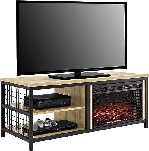 NTENSE Circuit Gaming 54 , Black TV Stand