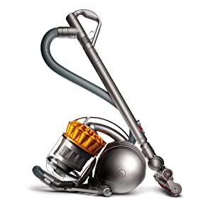 Dyson Ball Multi Floor Canister Vacuum, Yellow/Iron