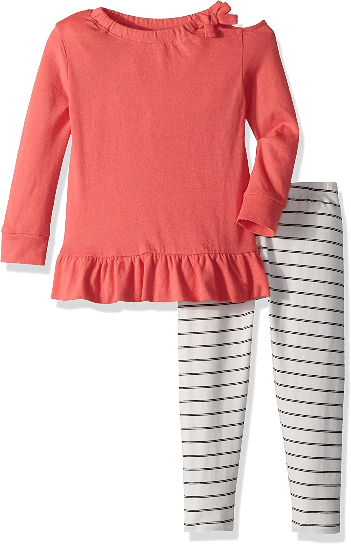 Splendid Girls Kids and Baby Long Sleeve Sweatshirt and Bottom 2 Piece Set