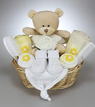 Unisex baby boy girl baby hamper gift basket baby shower present unisex baby boy girl baby hamper gift basket baby shower present negle Images