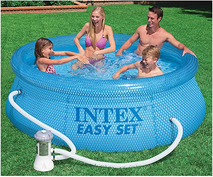 Intex Easy Set Piscina con Depuradora: Amazon.es: Jardín
