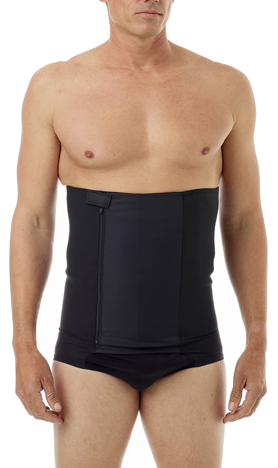 2d11e1e3e90d2 Underworks Belly Buster! 12-inch Zip-N-Trim Brief Girdle for Men - for  Tummy Trimming