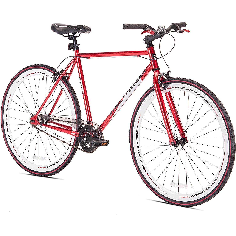 700 CケントSt式メンズ& # 39 ; sの自転車、レッド B018NKE6CG
