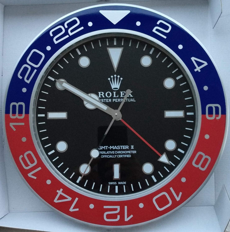 replica Rolex 35 mm de Pared GMT II Master Pepsi Metal Movimiento silencioso + 2 CD Audio: Amazon.es: Hogar