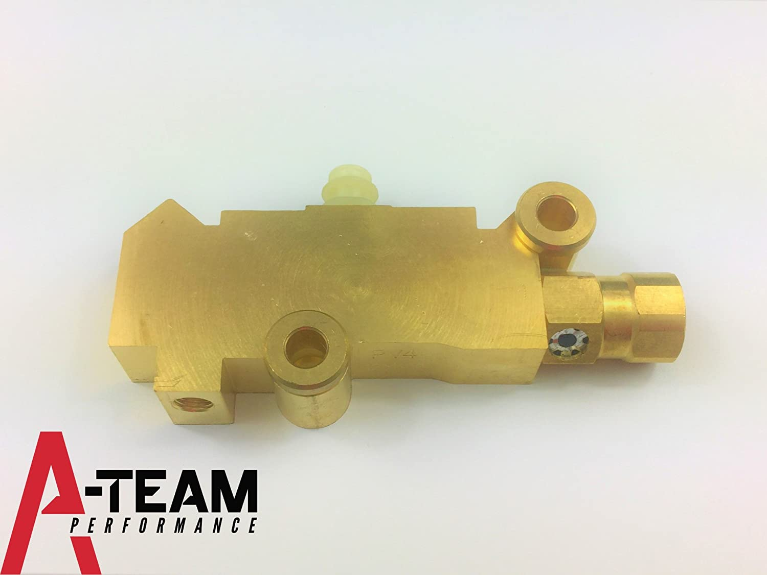 A-Team Performance DISC/DISC Disc Front Disc Rear Brake Brass Proportioning Valve PV4 A-TEAM PV4