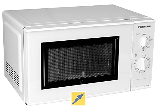 Panasonic nn-e201 W Horno Microondas Capacidad 20 Litros Potencia 800 W) Color Blanco: Amazon.es: Hogar