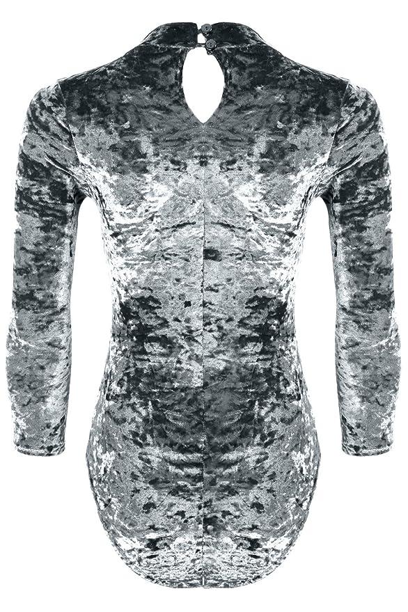 Womens Boobtube Sleeveless Panel Contrast Monochrome Bodysuit