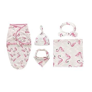 Amazon.com: Manta para bebé con gorro + diadema + juego de ...