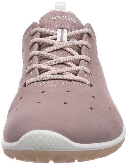 Ecco BiomLite, Chaussures de course femme - Marron - Braun (Woodrose/Rose Dust Yabuck/Syn58940), 36 EU