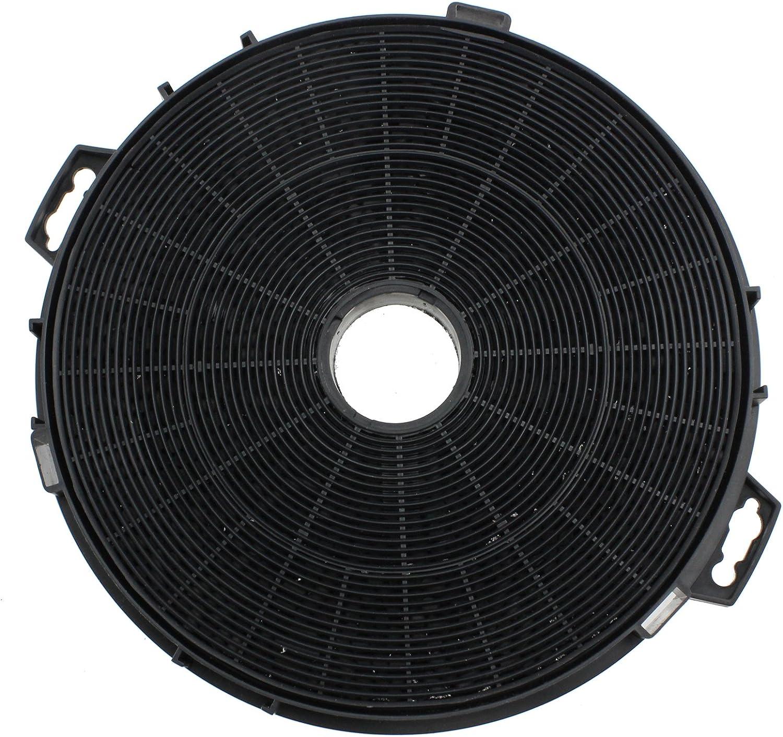 Pour hotte et ventilateur da/ération 210/mm Filtre universel de graisse au charbon Spares2go