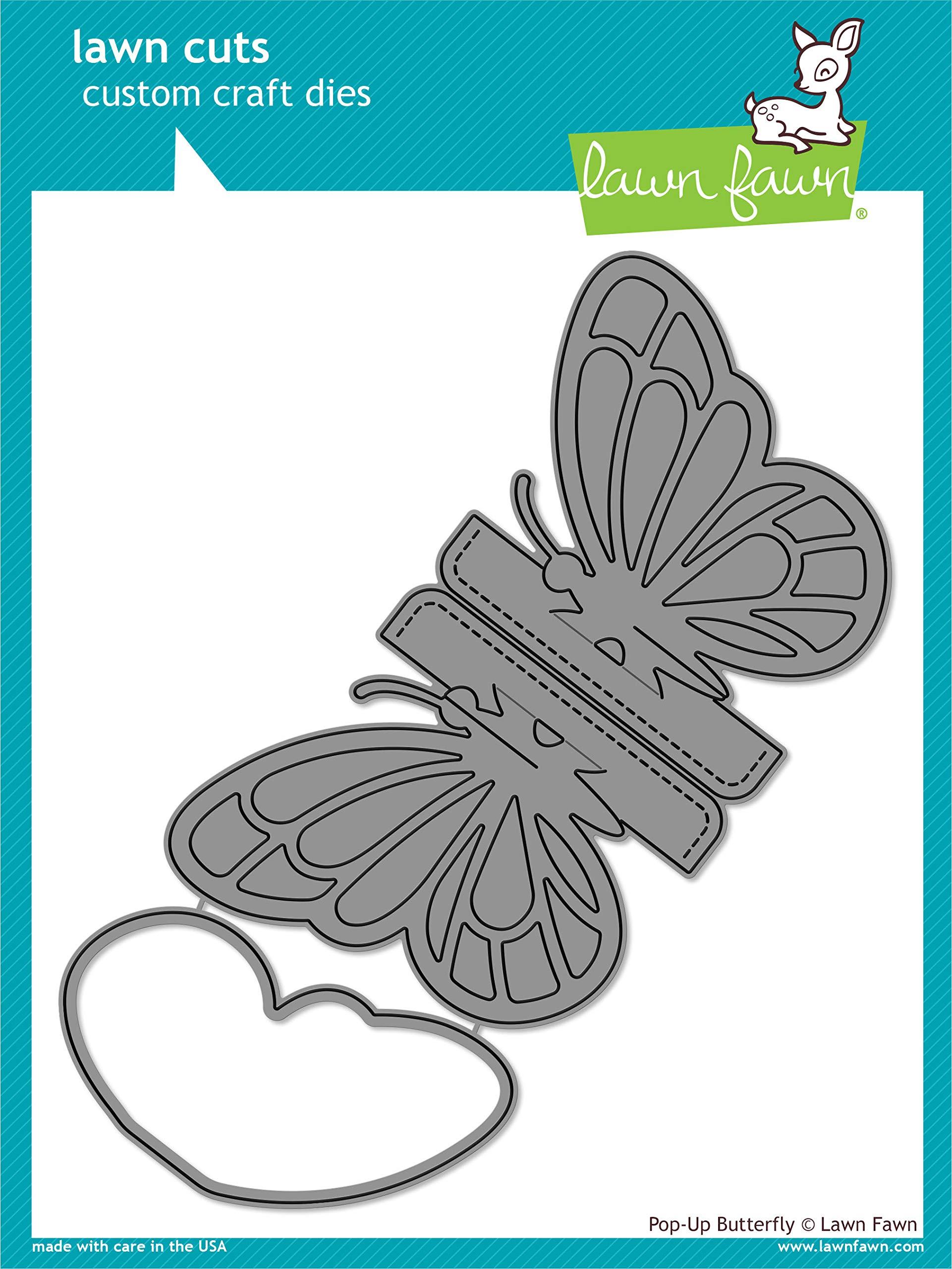 Lawn Fawn Pop-Up Butterfly Lawn Cuts Die (LF1914)