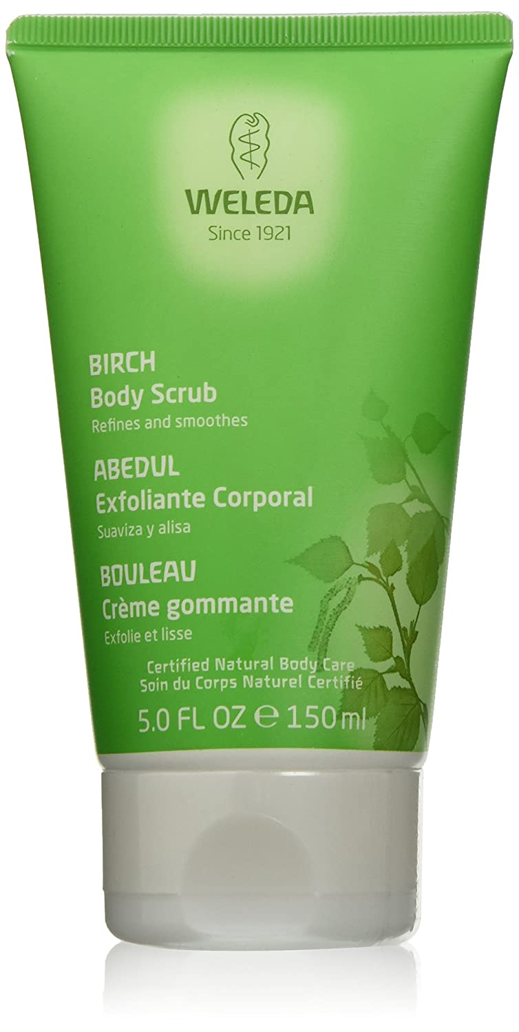 Weleda Birch Body Scrub, 5-Ounce 49199