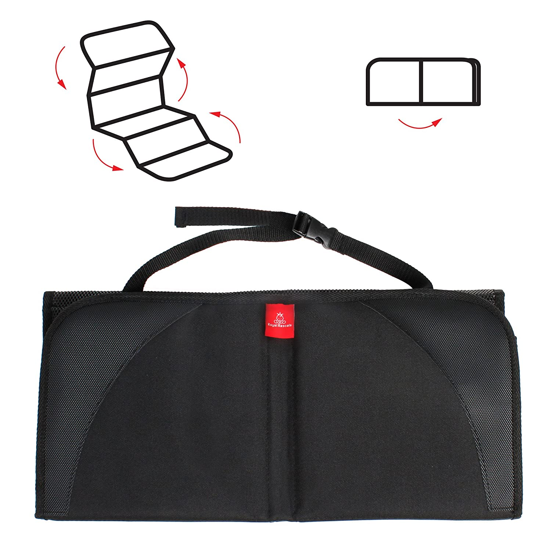 Protege la tapicer/ía con una cubierta acolchada Isofix Protecci/ón resistente contra las manchas Protector para el asiento del coche PRODUCTO PREMIUM ROYAL RASCALS