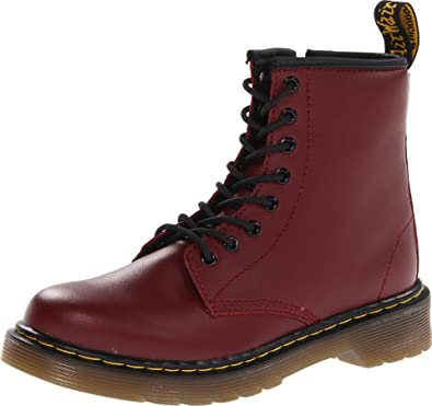 classic fit dcb82 459ea Dr. Martens Delaney Boot,Cherry Red,13 UK(1 M US Little
