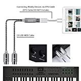 USB to MIDI Cable IN-OUT Converter MIDI Interface