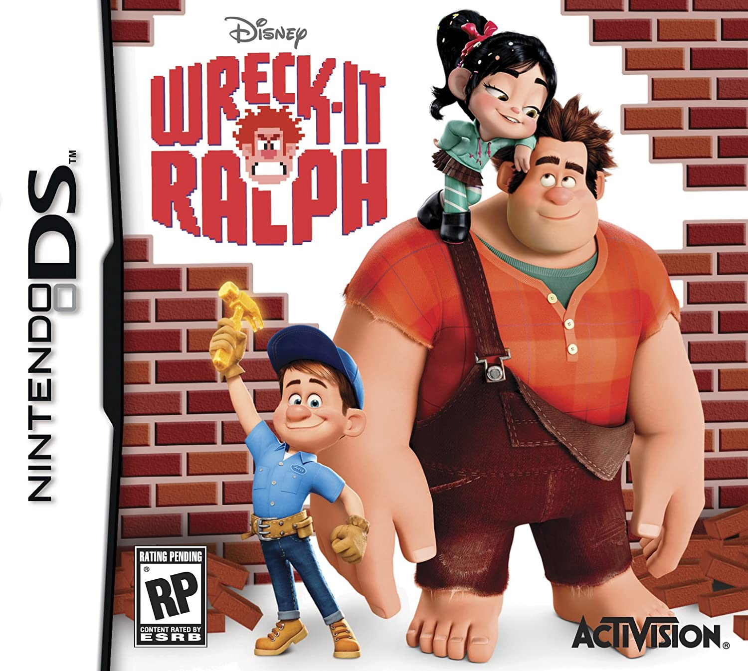 Amazoncom Wreck It Ralph Nintendo Wii Activision Inc Video Games