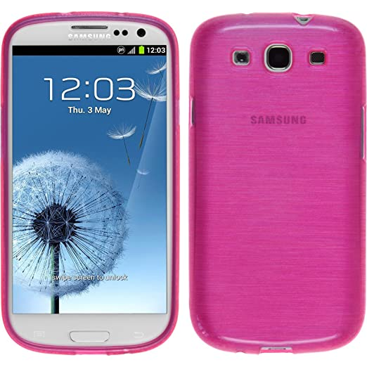 32 opinioni per PhoneNatic Custodia Samsung Galaxy S3 Neo Cover rosa caldo brushed Galaxy S3 Neo