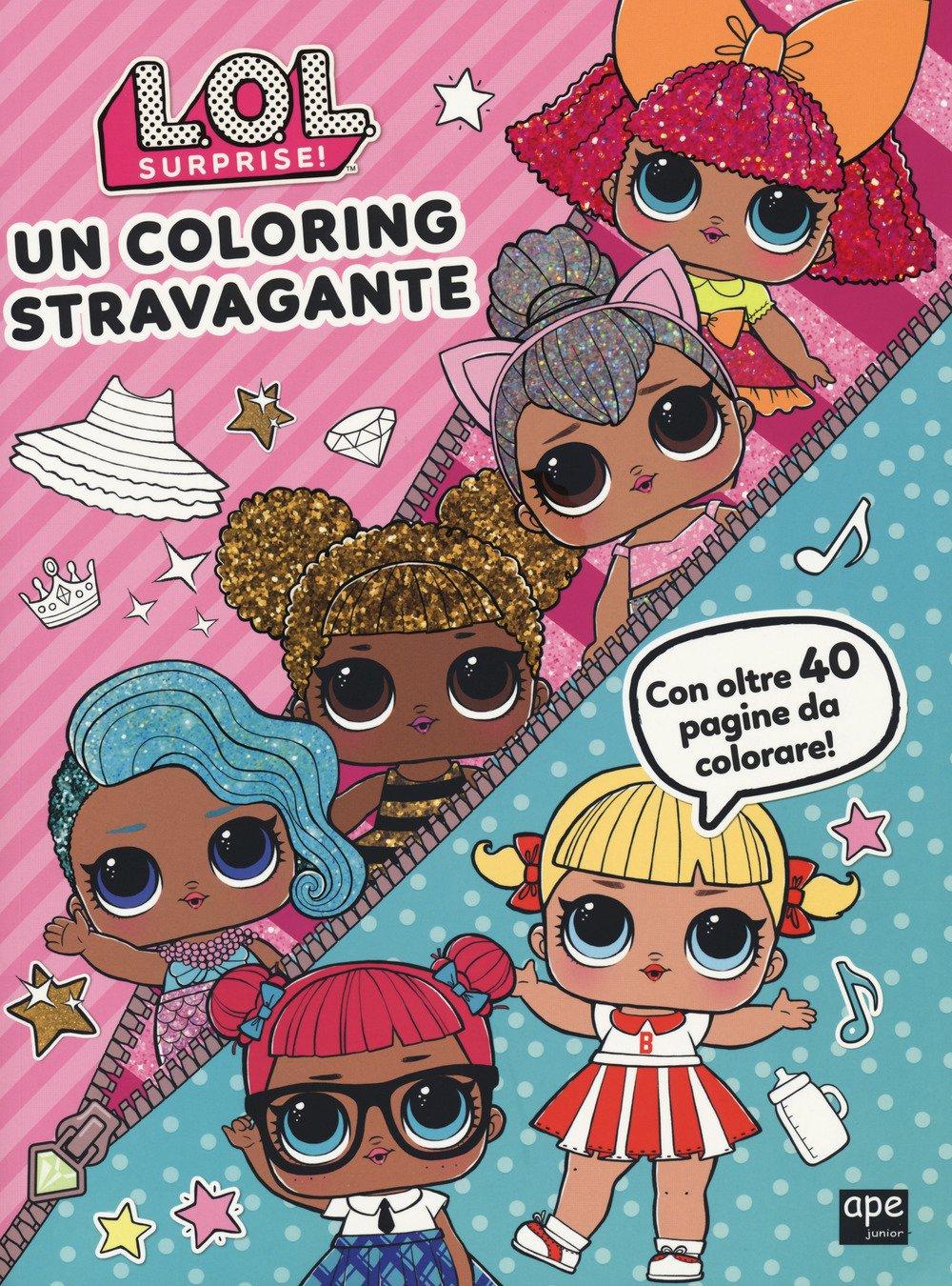 Amazon It Un Coloring Stravagante L O L Surprise E Brumana