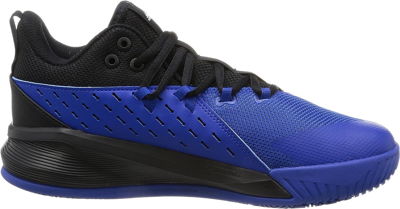 adidas Street Jam 3, Scarpe da Ginnastica Uomo Nero Negbas Ftwbla Reauni