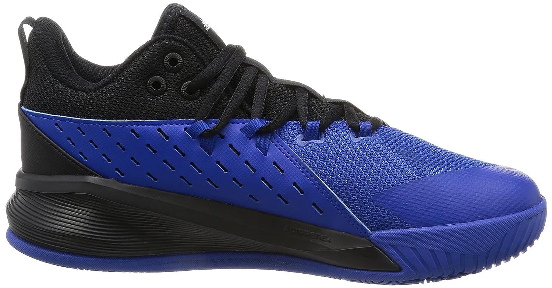 adidas Street Jam 3, Chaussures de Tennis Homme, Noir (Negbas/Ftwbla/Reauni), 44 EU
